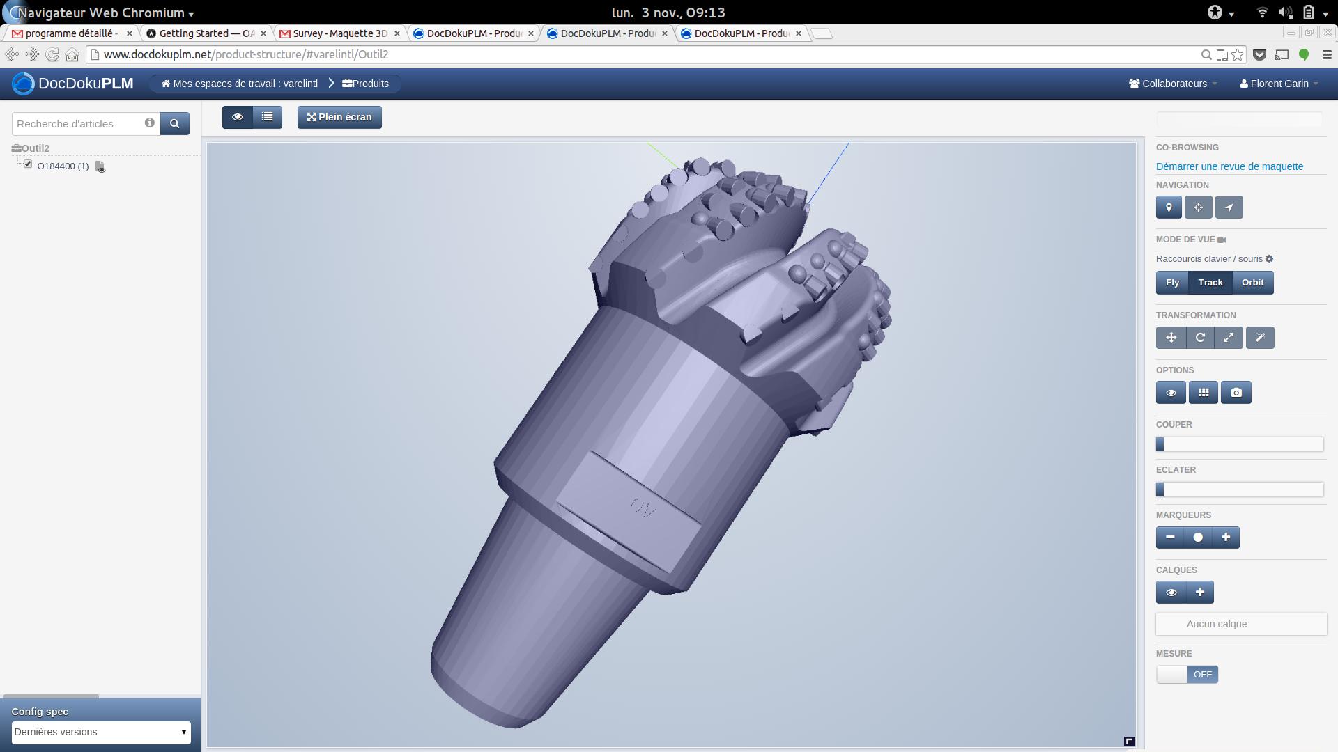 3D drill